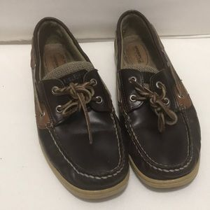 Sperry boat shoes size 9 in great condition